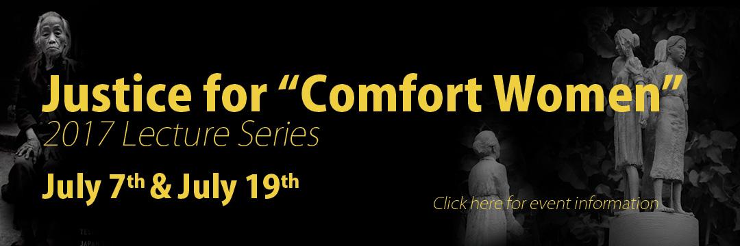 Comfort Women Lectures