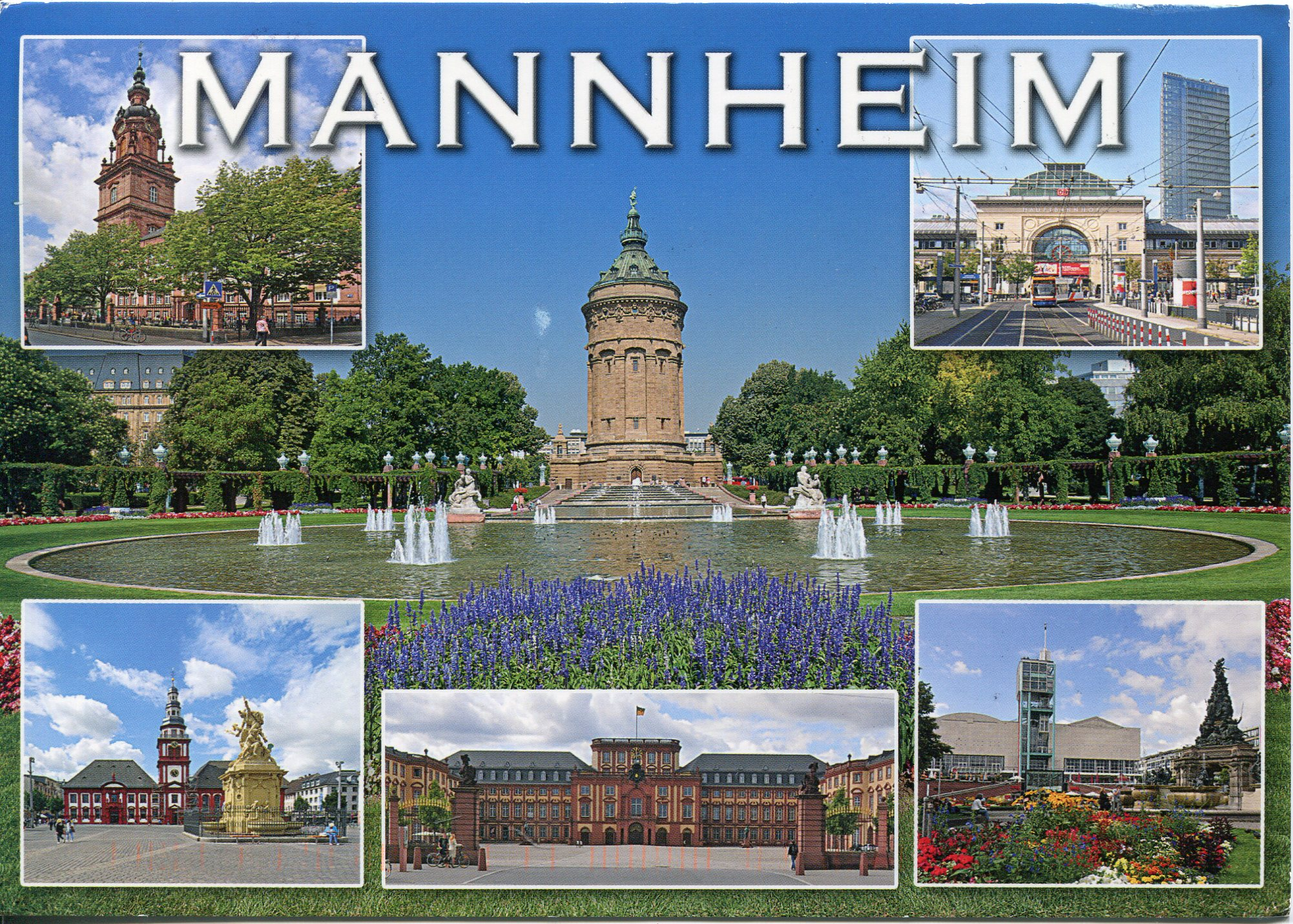 Mannheim Germany Mannheim Remembering Letters And Postcards