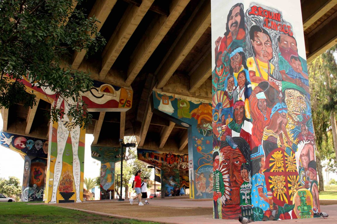 Arte Chicano Murals Here Are The Stories Behind 10 Murals In San Diego S Chicano Park