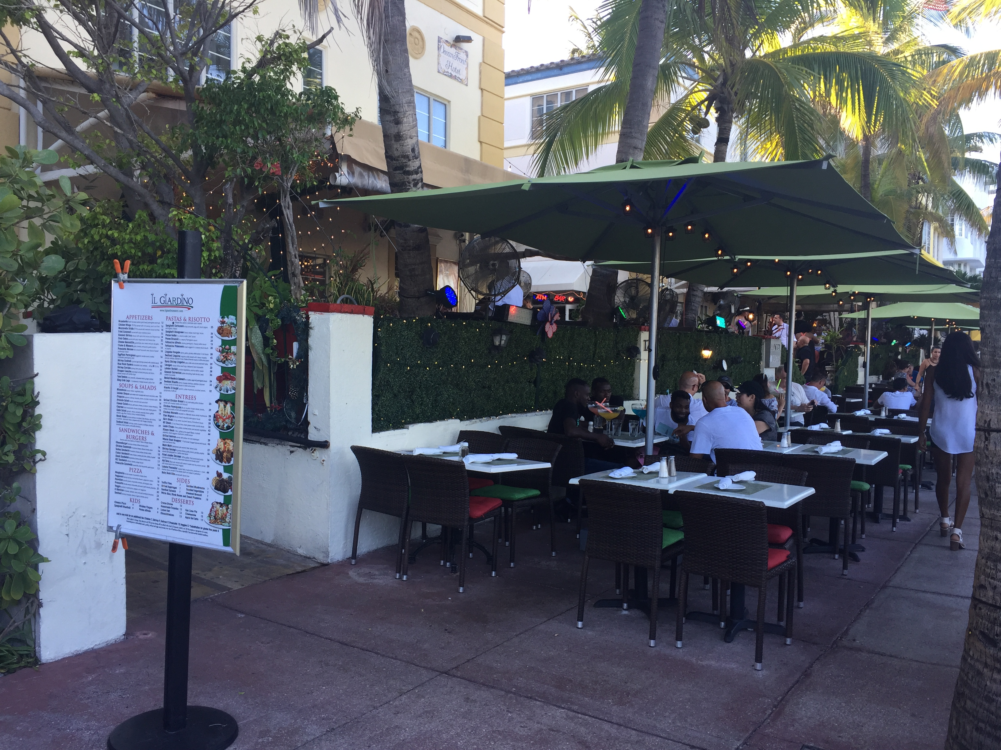 Giardino Prices Il Giardino S Outdoor Music Permit Remains Suspended South Beach