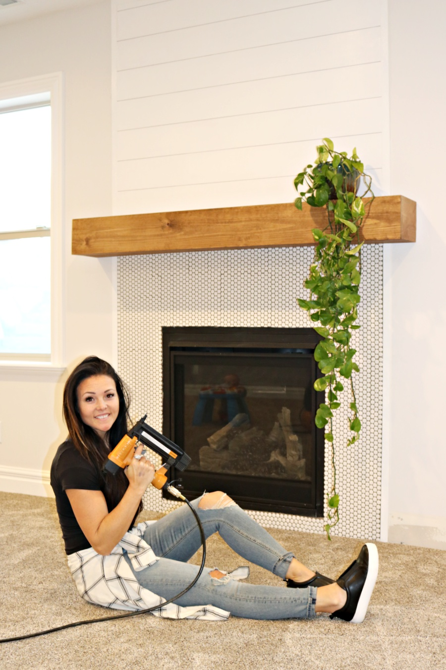 6 Ft Fireplace Mantel Easy Diy Wood Mantel Remington Avenue