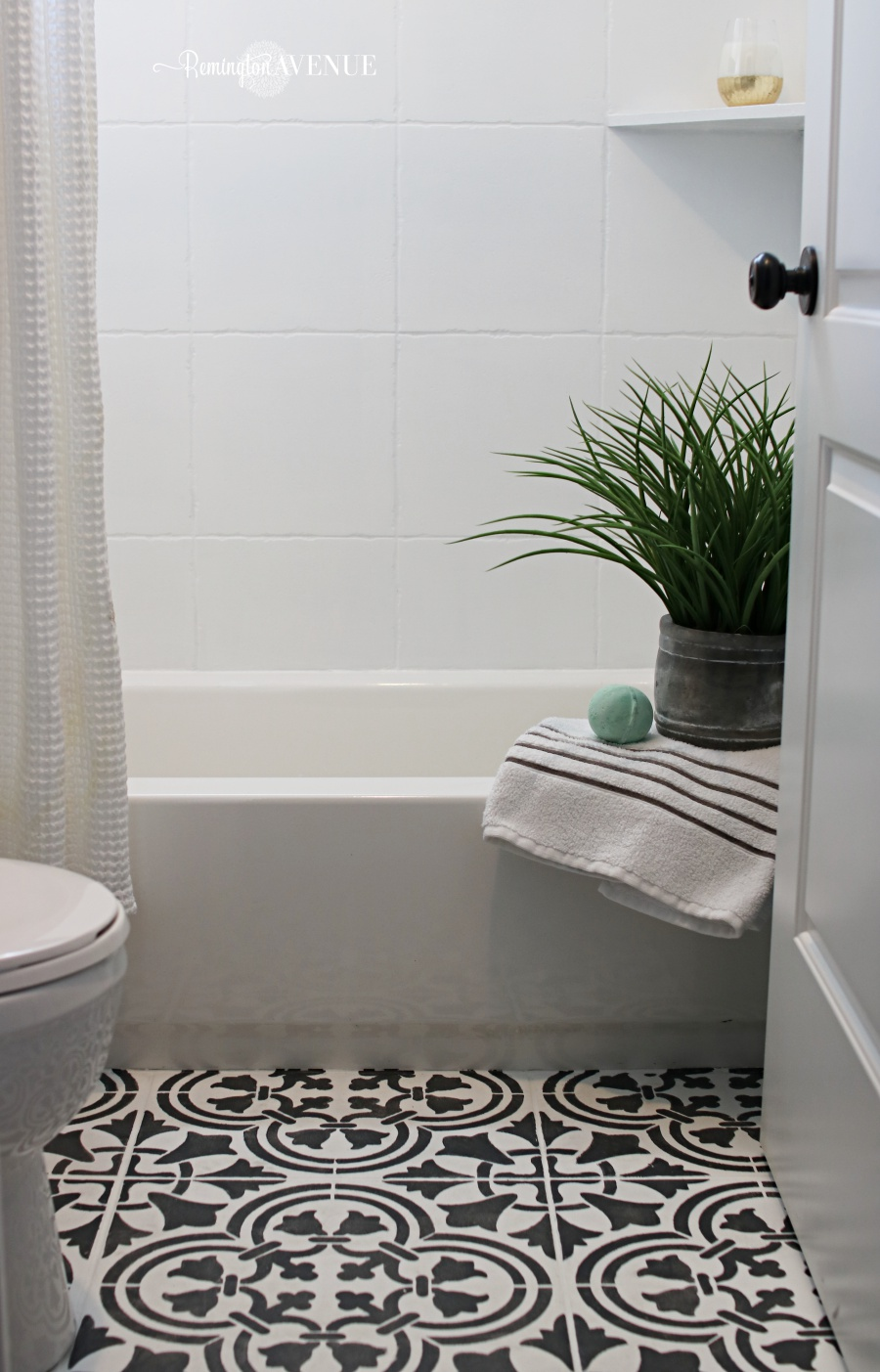 Washroom Tiles How To Paint Shower Tile Remington Avenue