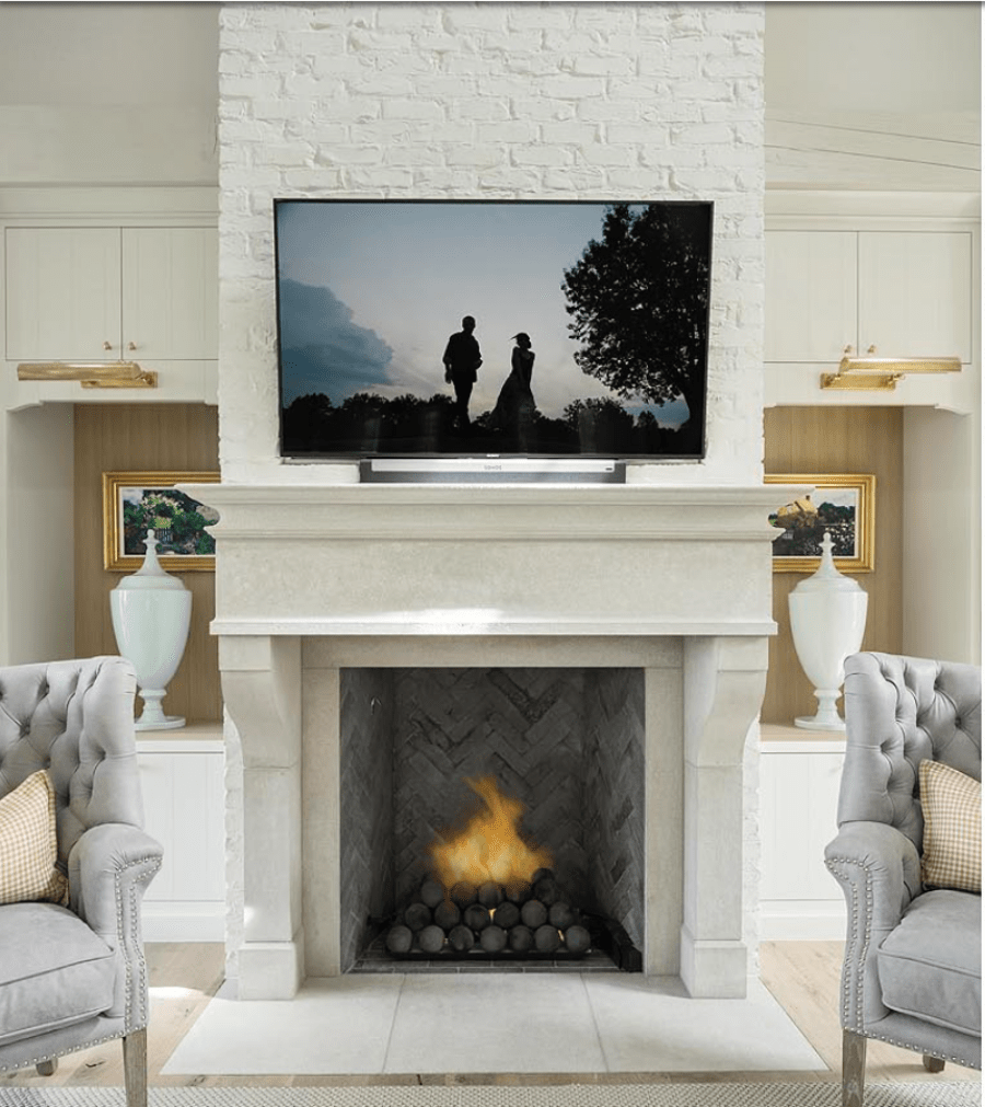 French Country Fireplace French Country Modern Drawings To Framing Remington Avenue