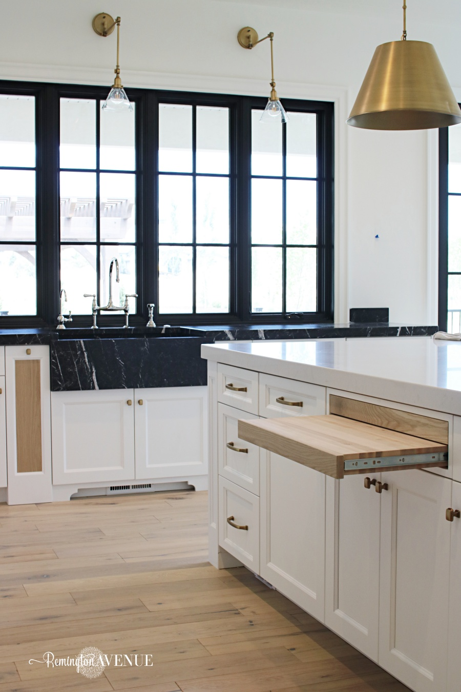Modern French Country Kitchen French Country Modern Kitchen With Black Marble Counters