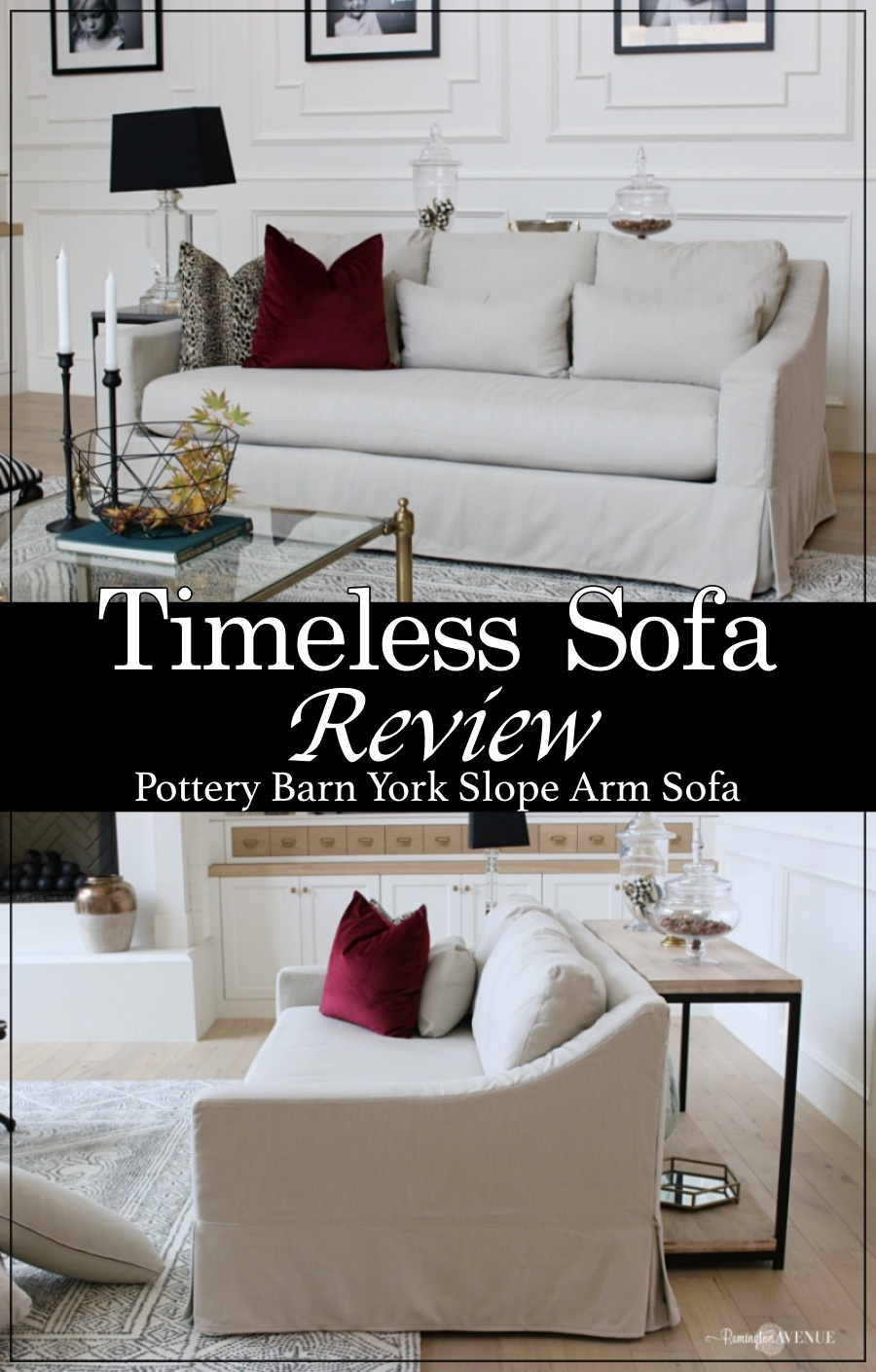Sofa Cushions That Don't Go Flat Pottery Barn York Sofa Honest Review Remington Avenue