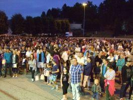 La foule des grands soirs sur le Champ de Mars