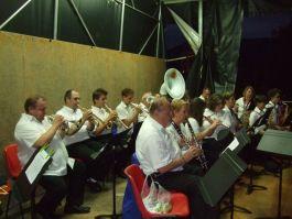 La musique municipale a joué des airs populaires