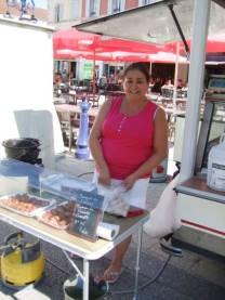Mme Martins et ses spécialités portugaises