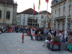 Un public très présent et conquis par la prestation de Léane