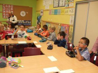Rentrée scolaire dans le primaire 022
