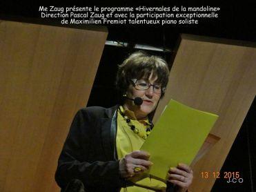 01 le programme par M-C Zaug