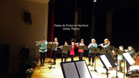 10 Classes de Flutes et Hautbois