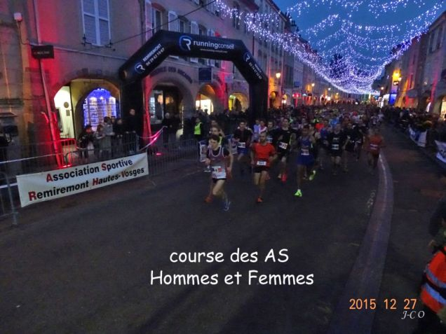 25 course des AS