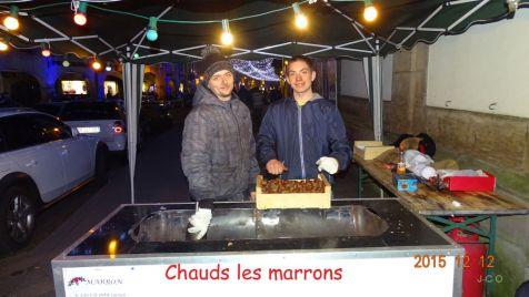 25 marchands de marrons