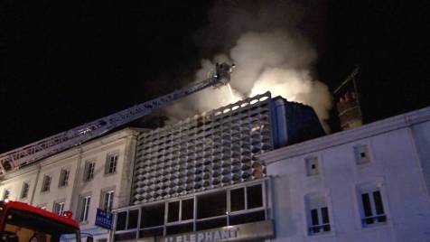 Incendie Darney 28 avril 1