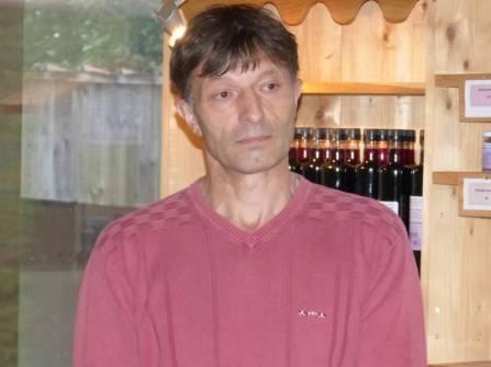 Roland Balandier, producteur de bluet.