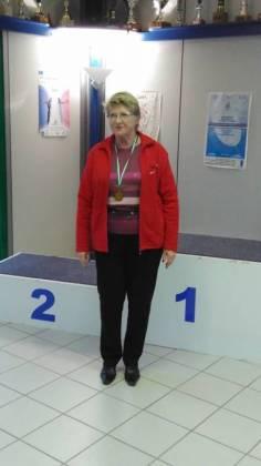 Monique championne des Vosges dame 3