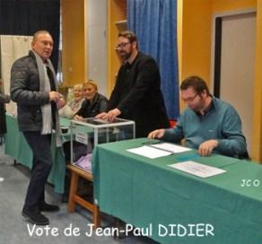 01 Vote de J-P DIDIER