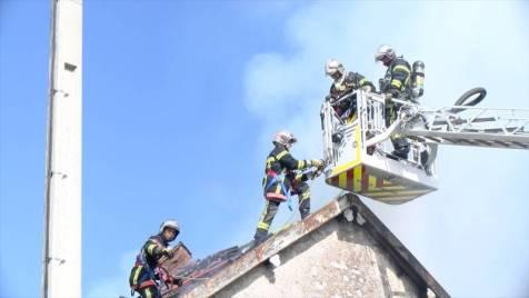 Incendie Remiremont