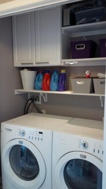 Houzz Advertising Remodelaholic | 25+ Ideas For Small Laundry Spaces