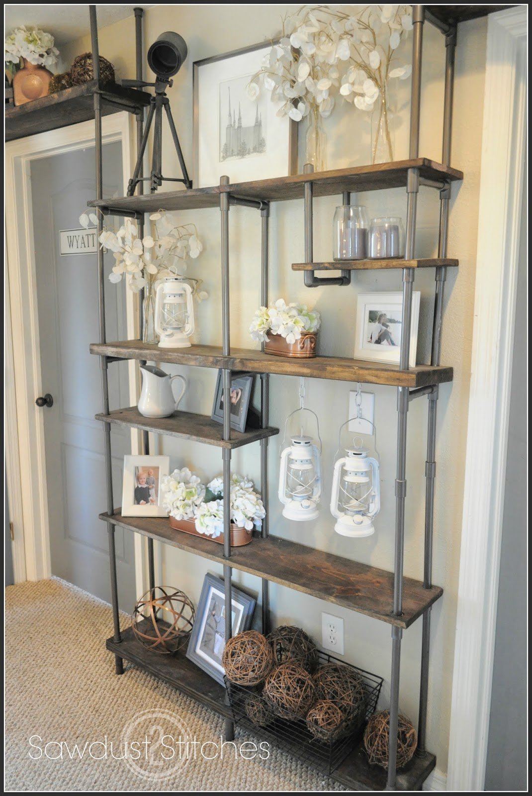 Dvd Regal Ideen Diy Faux Industrial Shelves - Uncookie Cutter