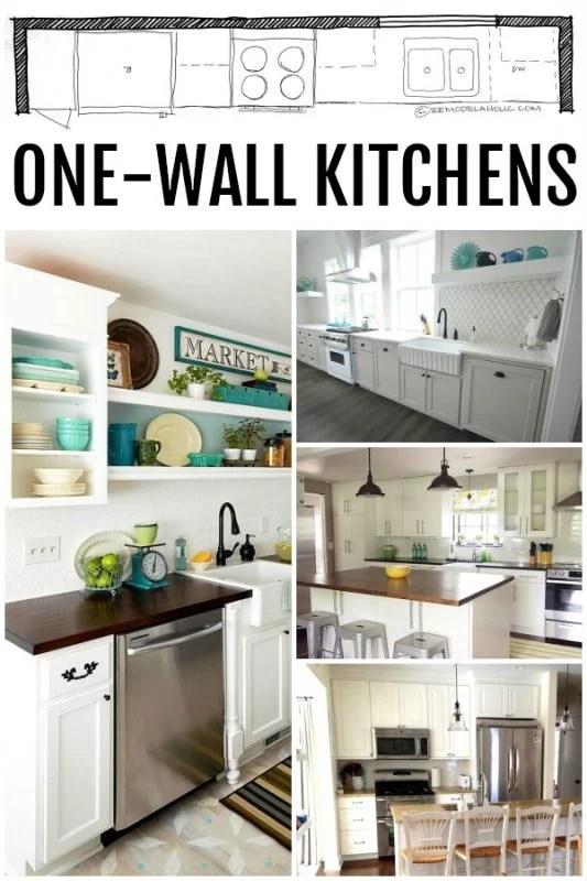 kitchen design single wall kitchen layouts remodelaholic small kitchen island ideas space part kitchen