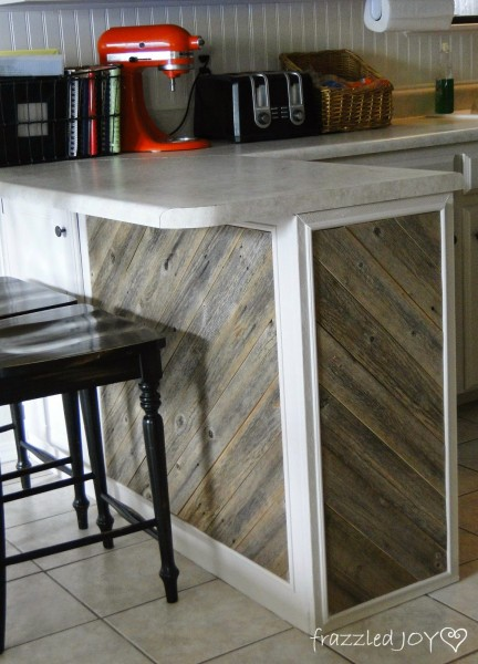 Kitchen Island Beadboard Remodelaholic | Update A Plain Kitchen Island Or Peninsula