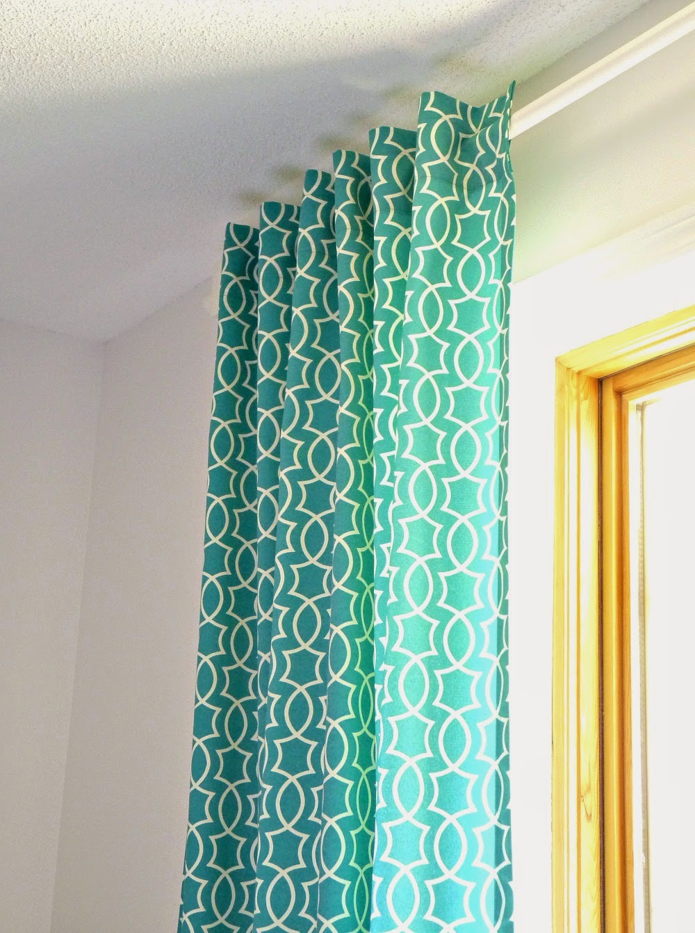 Make Curtains Remodelaholic Simple Sewn Back Tab Curtains