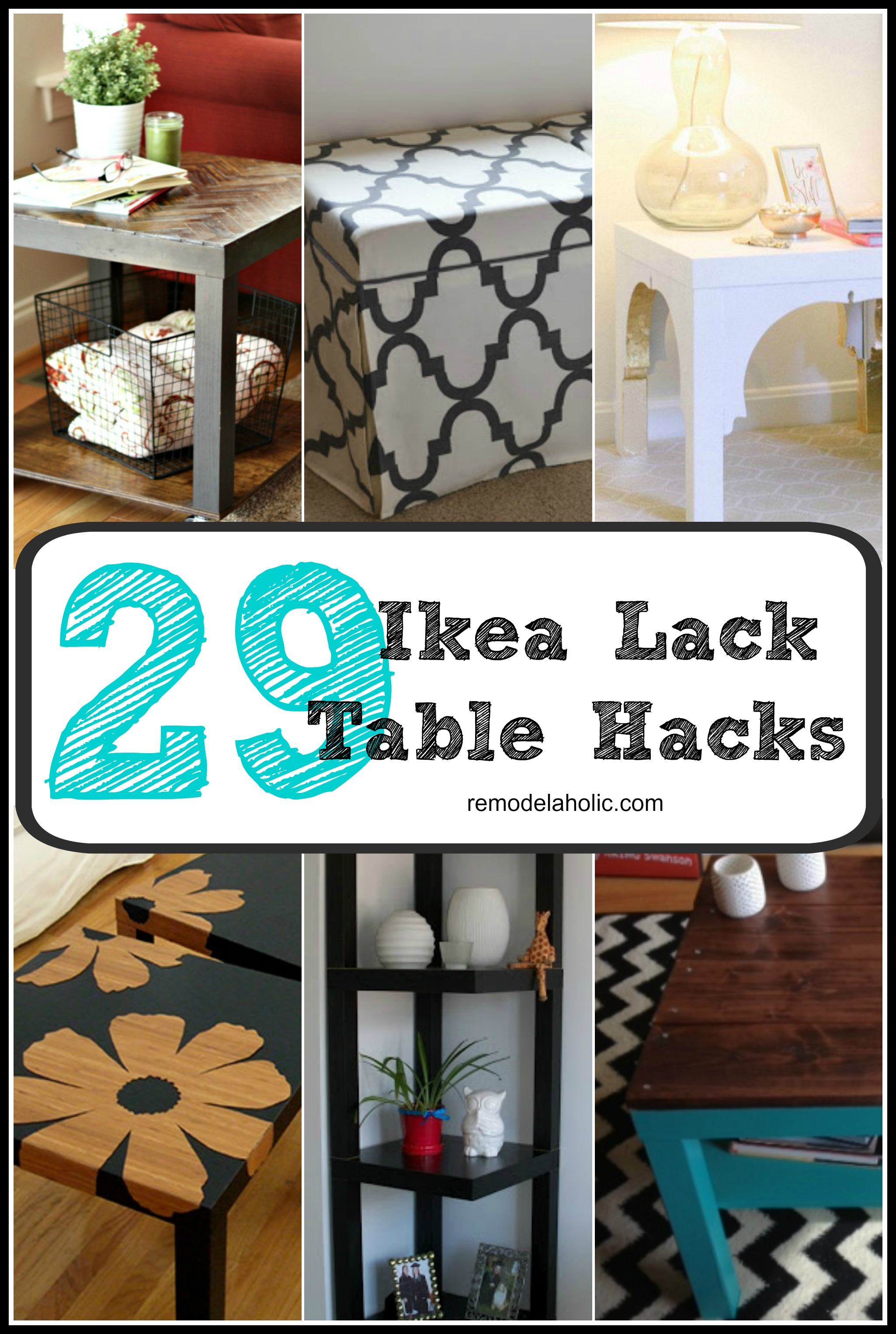 Ikea Wood Desk Remodelaholic | From Bargain To Beautiful: 29 Stylish Ikea