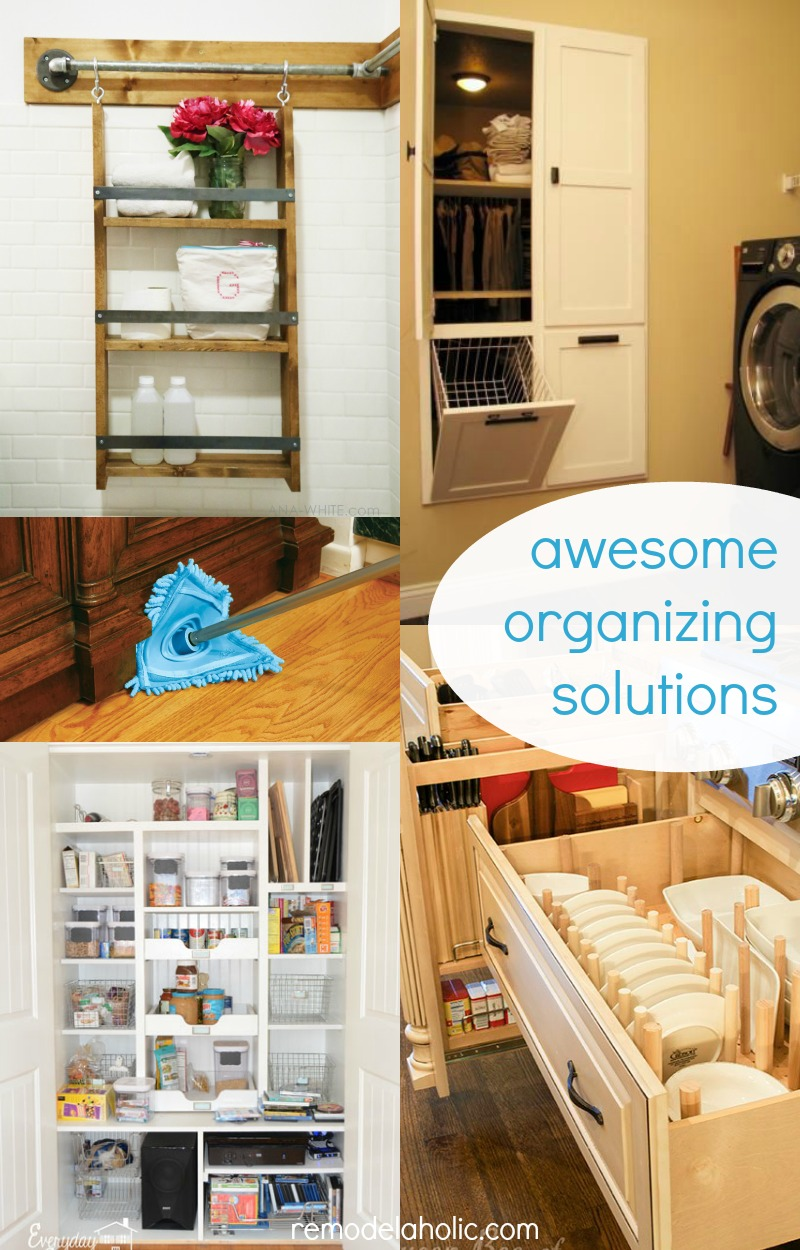 Remodelaholic Friday Faves Organizing Tips And Tricks