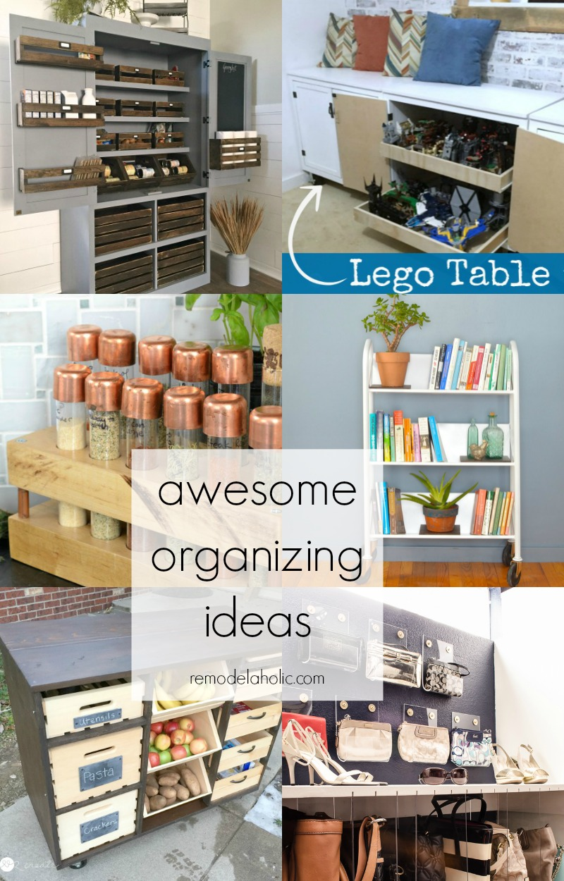 Remodelaholic | Awesome Room Organization Ideas for Your Whole Home