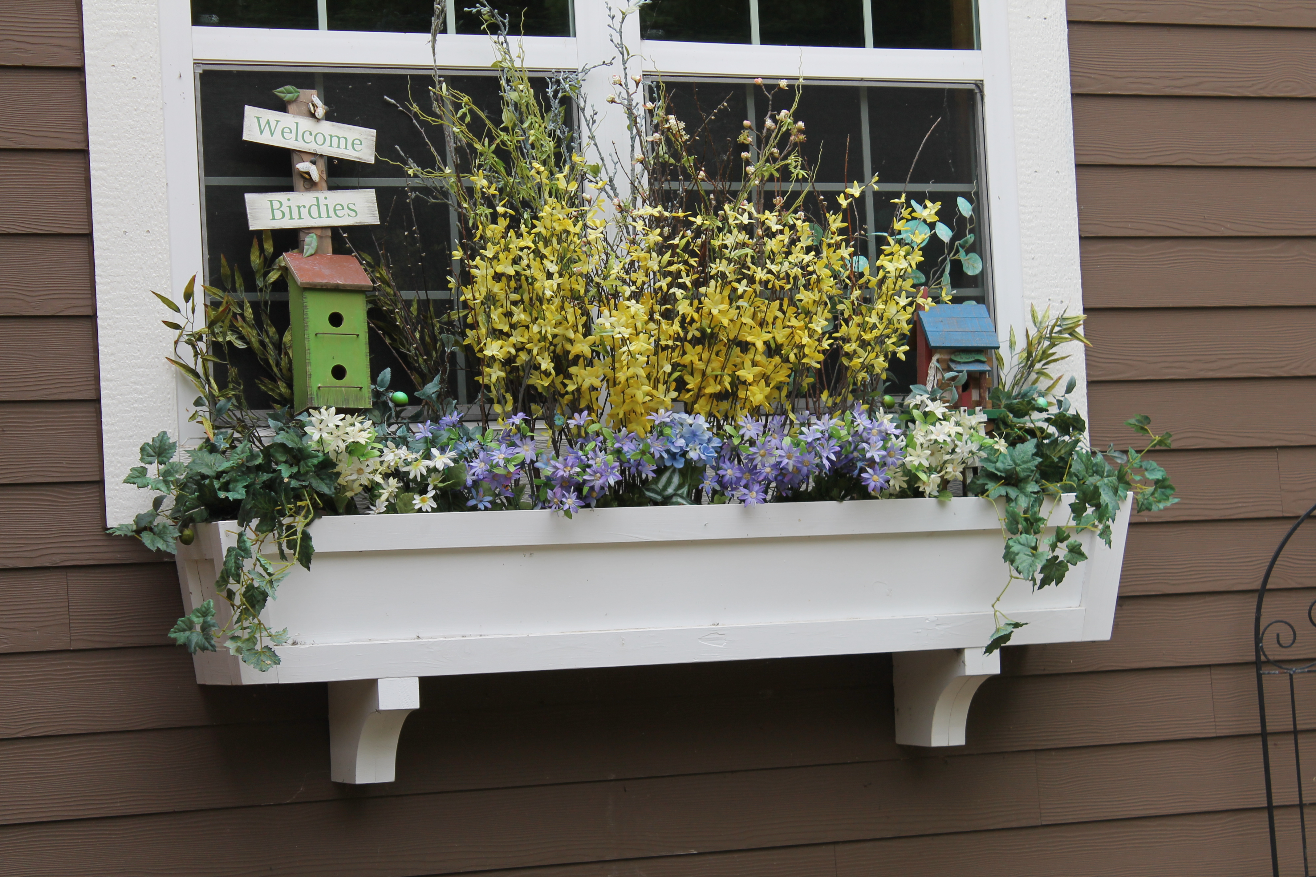 Diy Garden Window Plans Remodelaholic How To Build A Window Box Planter In 5 Steps