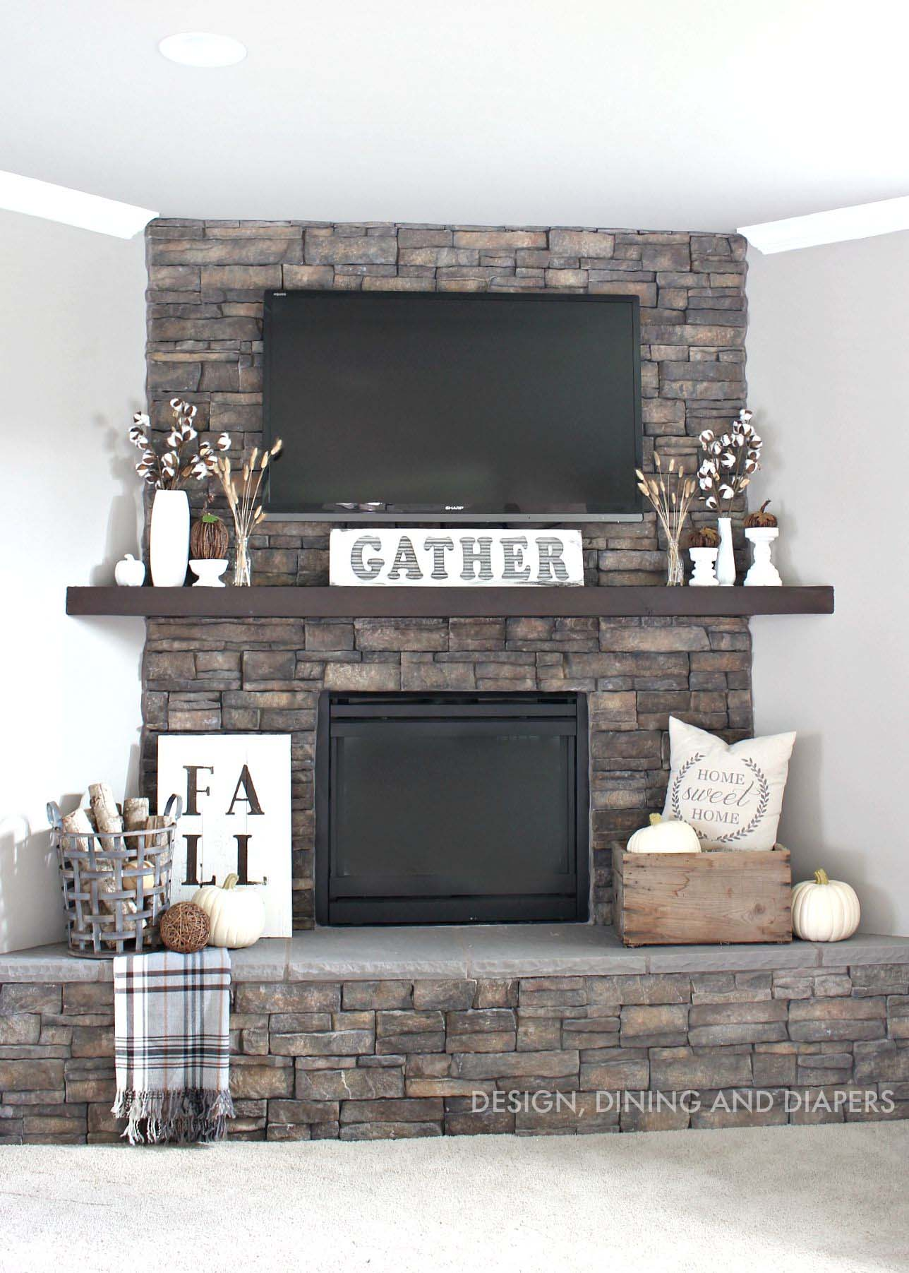 Television Over Fireplace Design Tv Over Fireplace Decor Furniture Ideas