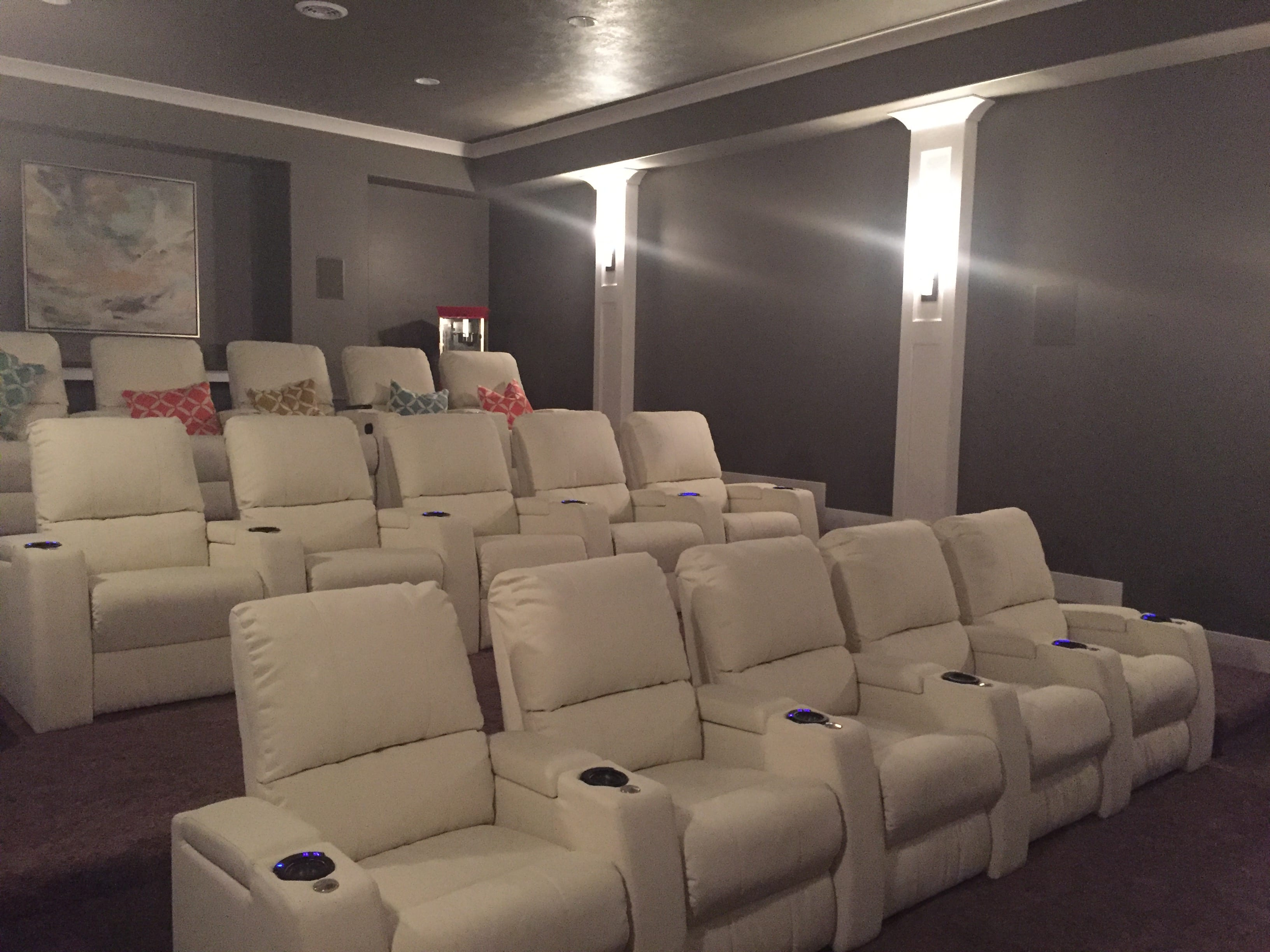 Home Theater Room Ogden Valley Ut Custom Home Theater Room