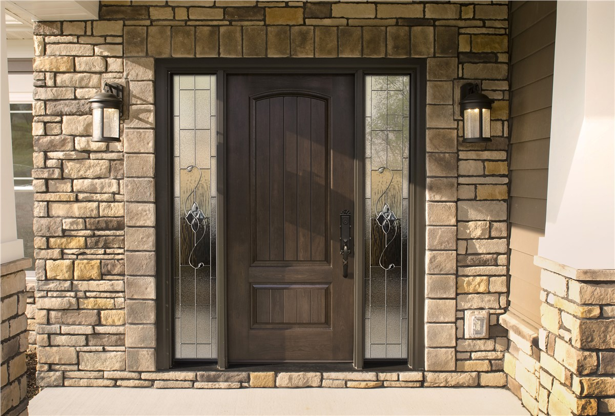 Entrance Doors Wood Entry Doors Kc Kansas City Wood Entry Doors Alenco