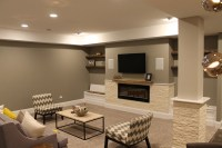 Basement Family Room |Chicago Basement Finishing Company ...