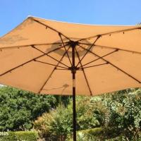 Patio Umbrella Solar LED Lights (Finally)