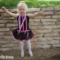 Creating a Perfect DIY Toddler Ballerina (Sock) Bun