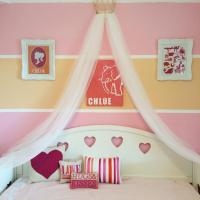 DIY Princess Crown Bed Canopy From Upcycled Pageant Crown
