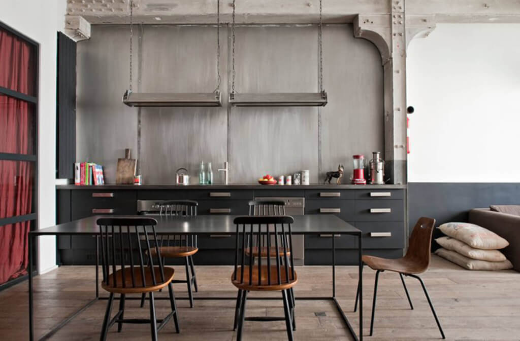 Deco Cuisine Style Industriel How To Design An Industrial Kitchen In Your Home