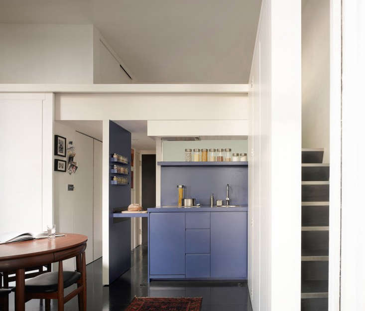 Micro Apartment Portland One-room Living: A Shape-shifting Studio Apartment In