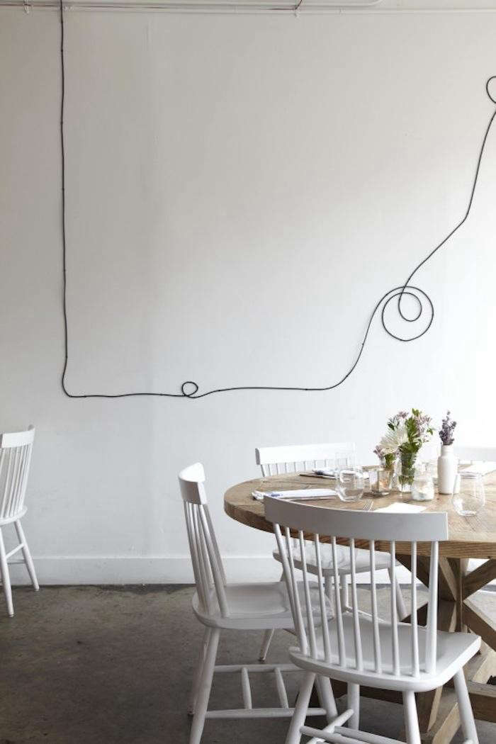 Kabel Dekorativ Verstecken Restaurant As Diy Gallery: L'ouvrier In Toronto: Remodelista