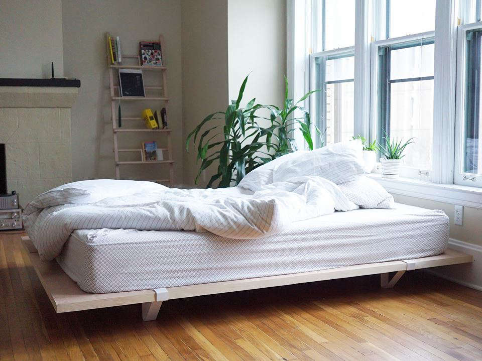 Ikea King Mattress Sleep Simplified: The Floyd Platform Bed For Urban Nomads