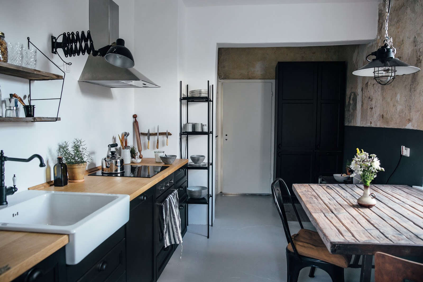 Muebles De Cocina Ikea 2016 Kitchen Of The Week: A Diy Ikea Country Kitchen For Two