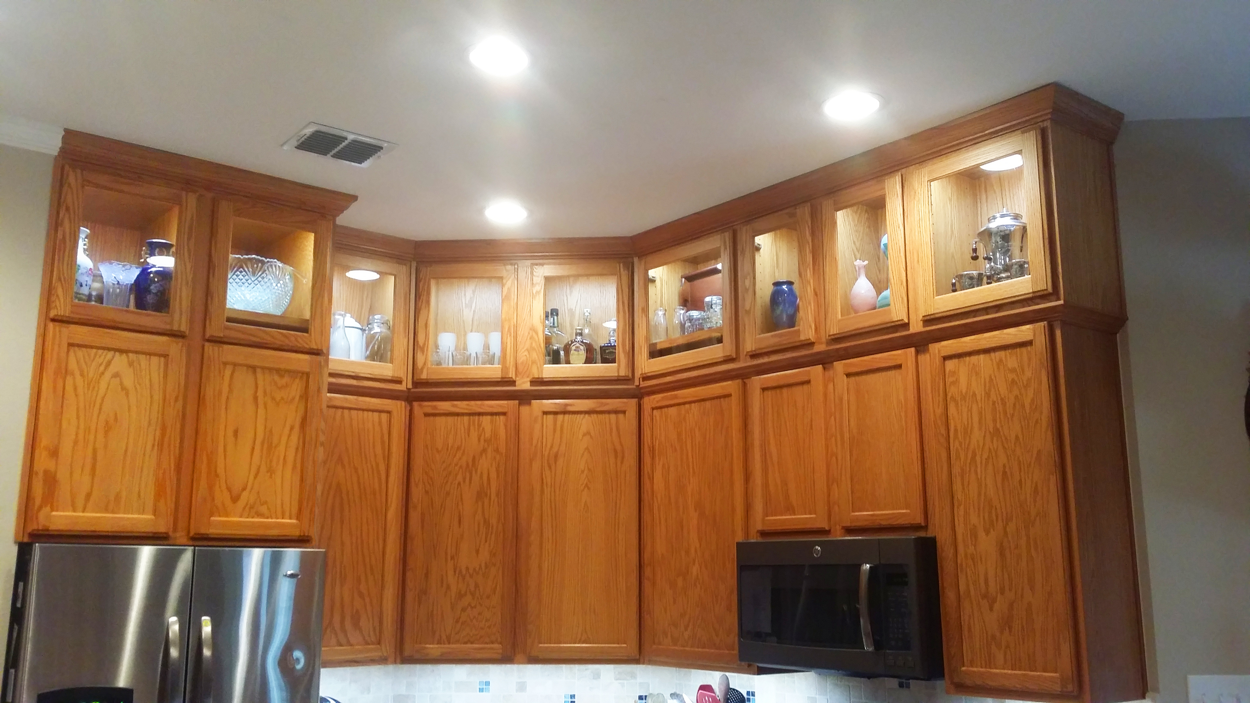 kitchen cabinets 2 install kitchen cabinets A Stylish Cabinet Installation Transforms a Dated Kitchen