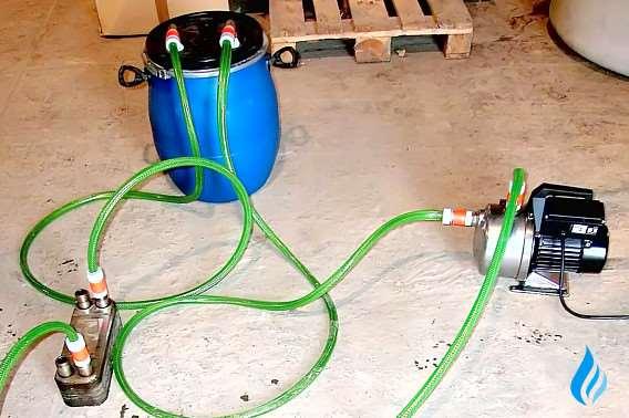 Промывка теплообменника котла viessmann Уплотнения теплообменника Ридан НН 62 Железногорск