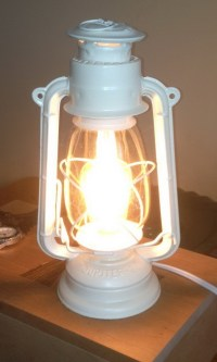 How To Make A Lamp Out Of An Oil Burning Lantern ...