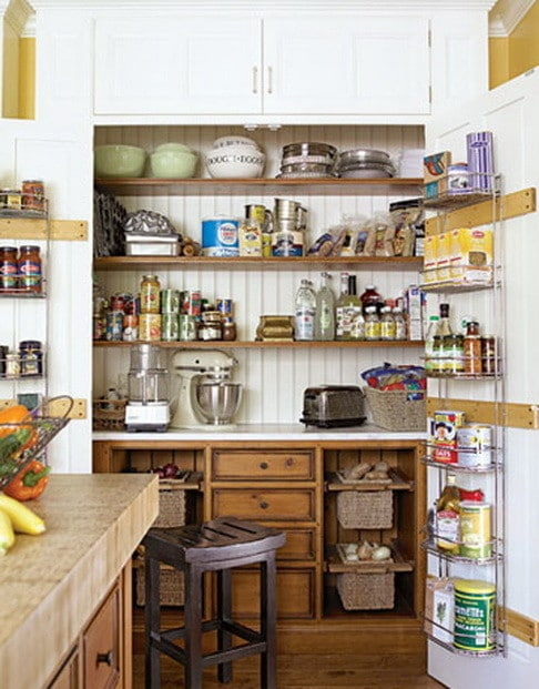 Kitchen Pantry Ideas 31 Kitchen Pantry Organization Ideas - Storage Solutions