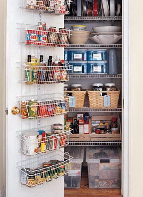 kitchen pantry organized types storage racks simple diy kitchen organizing storage ideas decozilla
