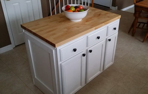 How To Make A DIY Kitchen Island And Install In Your Kitchen   Build A  Kitchen